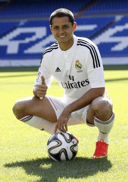 Javier Hernández tendrá una meta complicada en el Real Madrid al intenta...