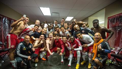 Los Red Bulls fueron los ganadores del Supporters' Shield en 2015.