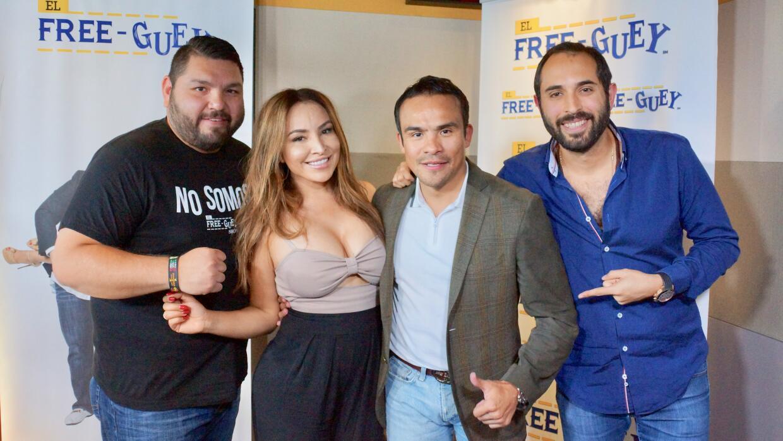 Juan Manuel Marquez en el Free-guey show