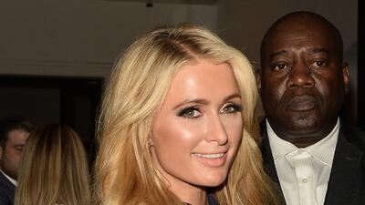 Paris Hilton dejó la fiesta, pero no la pose