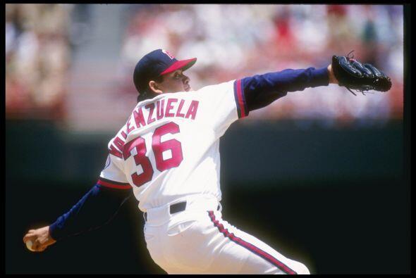 Valenzuela jugó para los Angelinos de California en 1991.