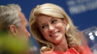 Wendy Davis, candidata a la gobernación de Texas por el partido Demócrata.