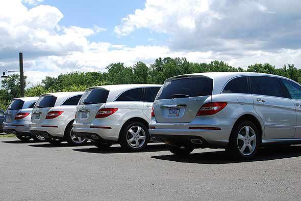 Su diseño combina las funciones de la SUV Clase GL con el station wagon...