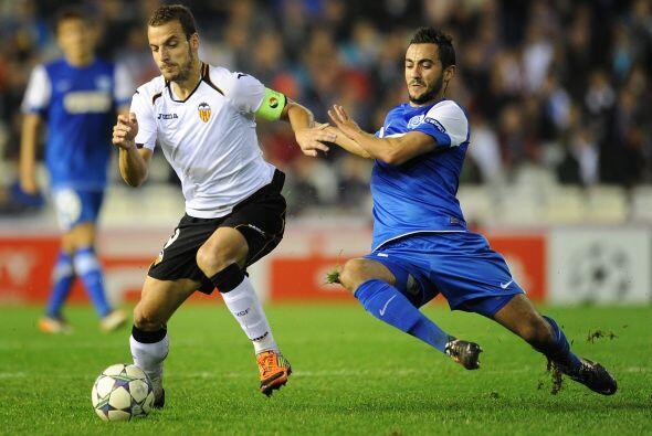 Los 'Naranjeros' se dieron un banquete de goles en Mestalla.