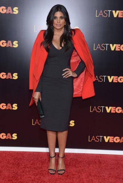 Una de las más elegantes de la alfombra roja es Rachel Roy. La combinaci...