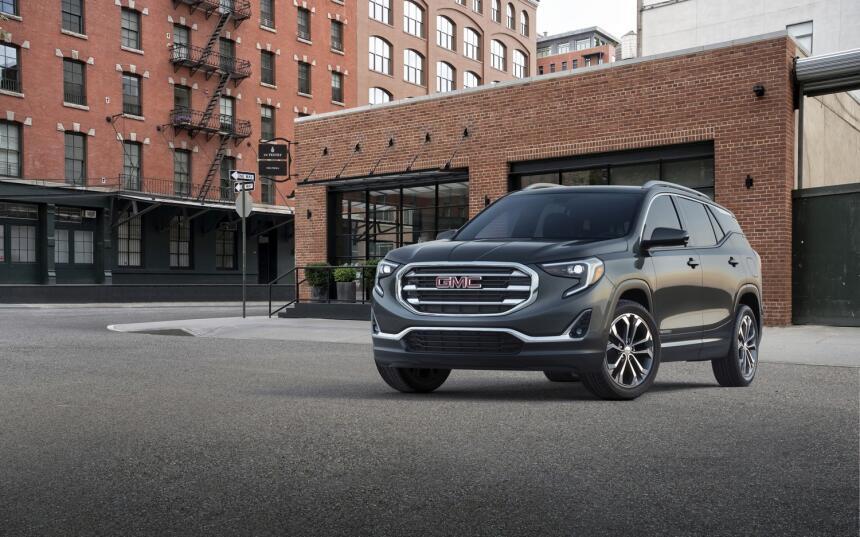 GMC presenta en Detroit la nueva Terrain 2018