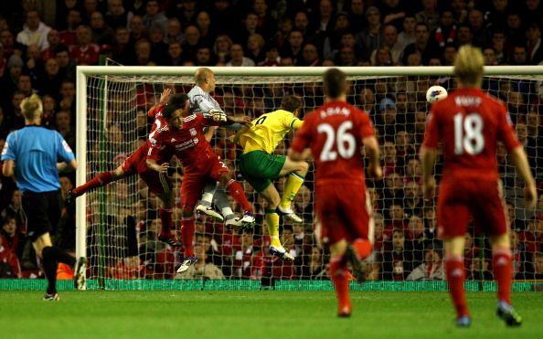 Cuando el Liverpool mejor jugaba llegó el empate.