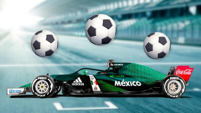 Así lucen los equipos de Fórmula Uno con look mundialista