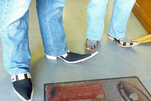 ¿Qué les parecen las botas que eligieron?