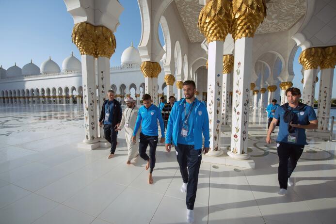 ¡De gira árabe!: Pachuca aprovecha el Mundial de Clubes para hacer turis...