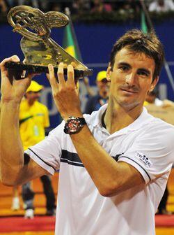 Y así fue como Tommy Robredo se consagró como campeón de singles. (ATP:...