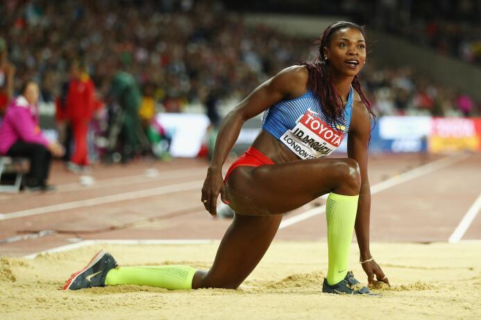 Ibargüen, oro Olímpico, tuvo que conformarse con el segundo lugar y su s...
