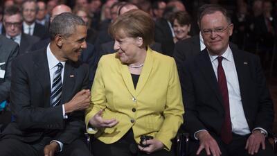 Merkel y Obama: un 'romance' entre estadistas que llega a su fin