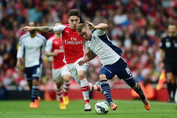 En el Emirates Stadium el Arsenal vapuleó al West Bromwich con gran actu...