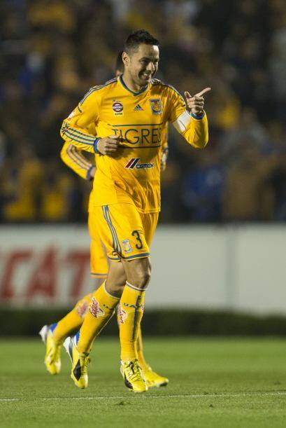 Juninho: El defensa central de Tigres tuvo su mejor noche en lo que va d...