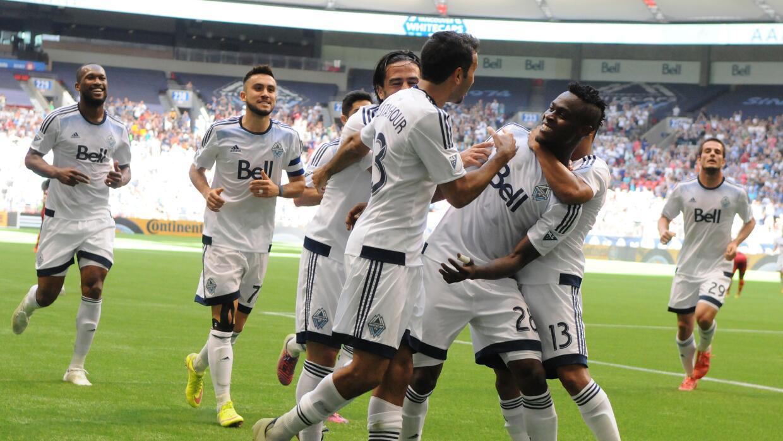 Vancouver Whitecaps celebra triunfo sobre RSL