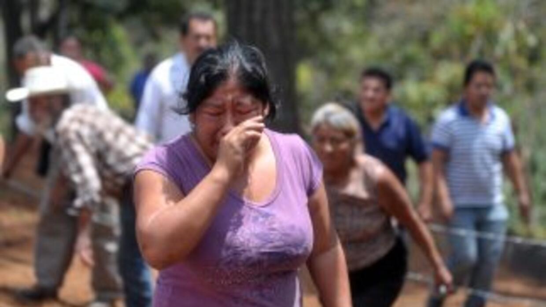 Las denuncias de guatemaltecos desaparecidos, posiblemente en territorio...