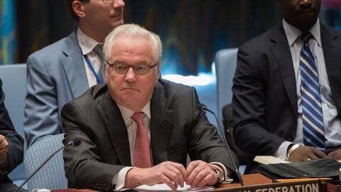El embajador ruso Vitaly Churkin murió en Nueva York.
