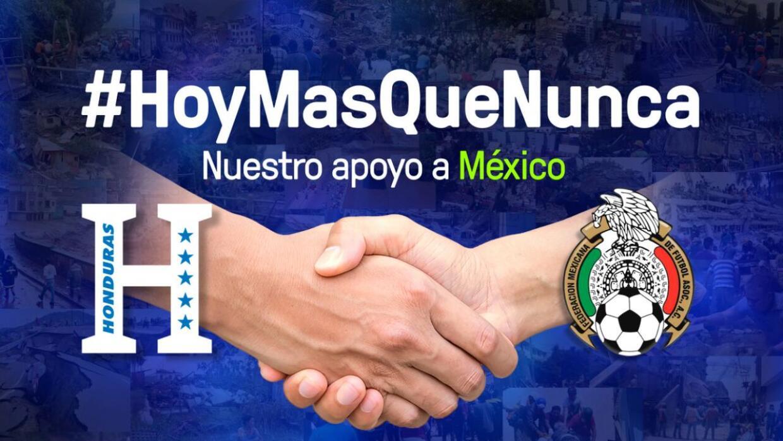 Honduras y México jugarán el próximo 9 de octubre.