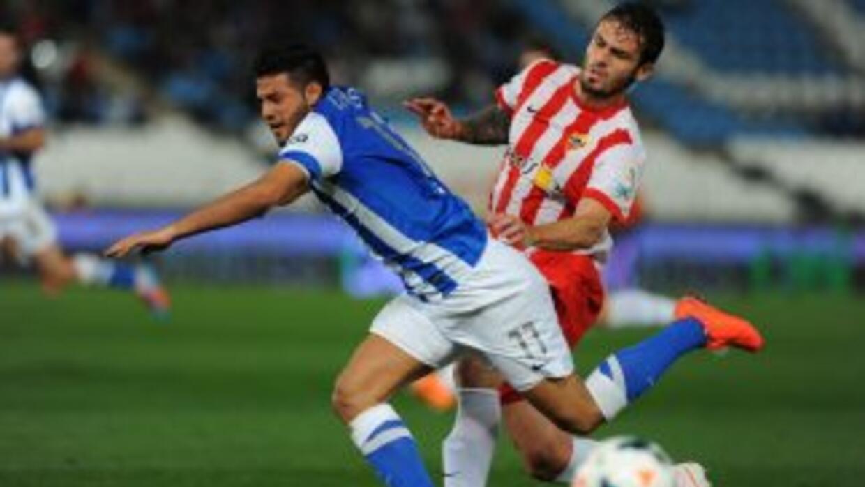 Ni el gol de Carlos Vela con el que se abrió el marcador pudo evitar la...