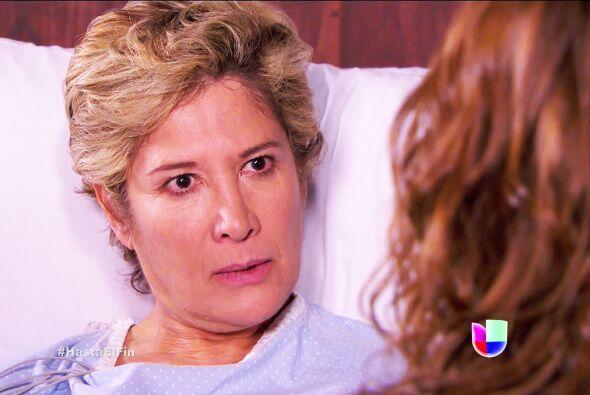 Cuando Alexa le reveló su romance con Armando dio el grito en el cielo.