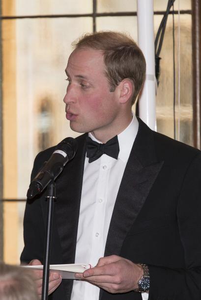 William convocó a varios famosos en el castillo de Windsor. Mira aquí lo...