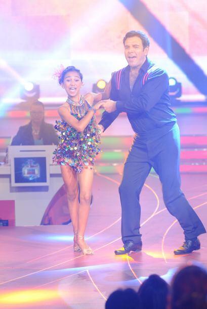 Los dos se divirtieron bastante durante su ejecución de baile.