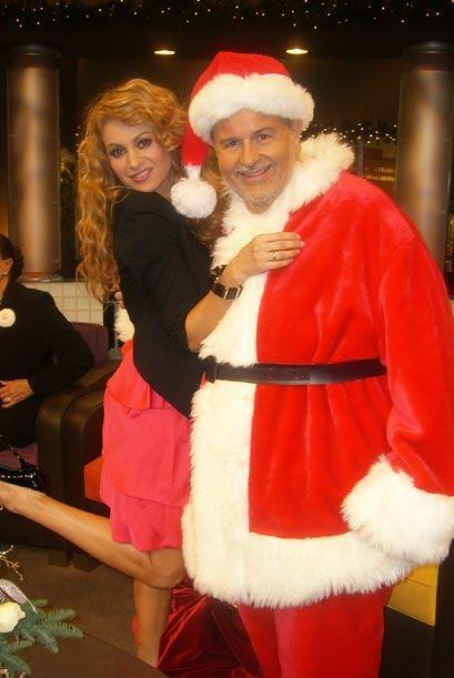 """Paulina se llevó tremenda sorpresa cuando """"El Gordo de Molina"""" llegó ves..."""