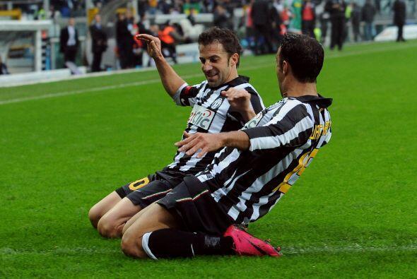 Alessandro del Piero, el histórico hombre gol de la 'Juve', abrió el cam...