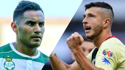 Frente a frente entre 'Gallito' Vásquez y Guido Rodríguez de cara al duelo Santos vs América