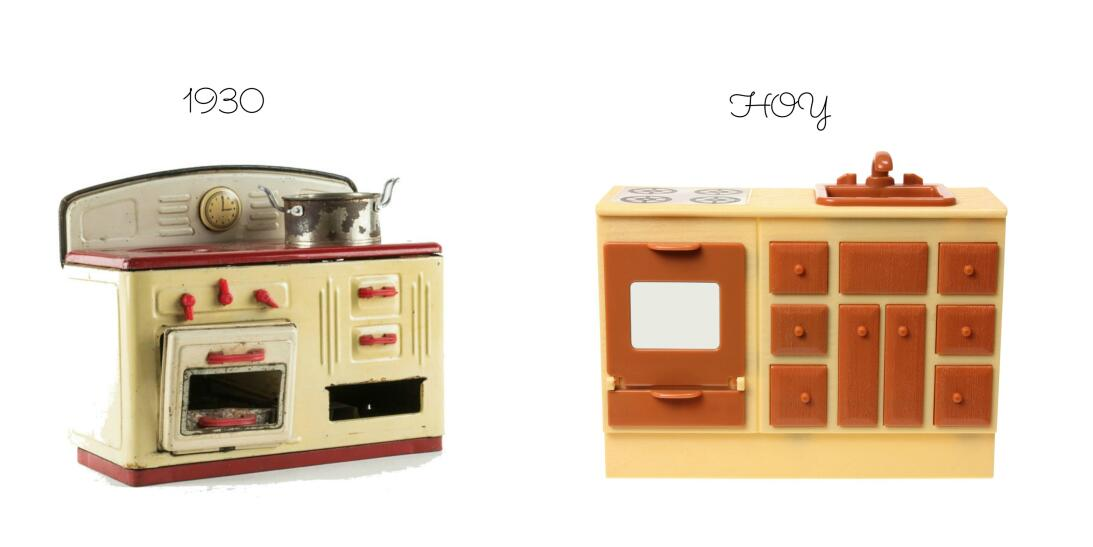 Así han cambiado los utensilios de cocina a través de los años  1histori...