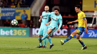 El Barça cedió terreno en La Liga empatando con Las Palmas
