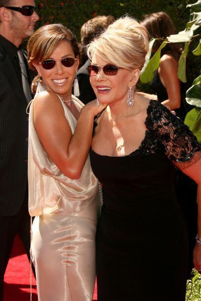 Joan Rivers ha dejado tremendo vació en el corazón de muchos famosos y p...