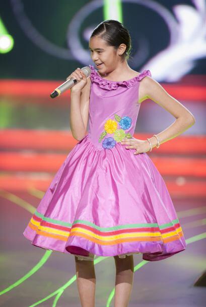 Como toda una princesa, tiene gran porte a la hora de usar vestidos.
