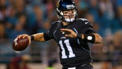 Blaine Gabbert quiere seguir siendo el titular de los Jaguars.