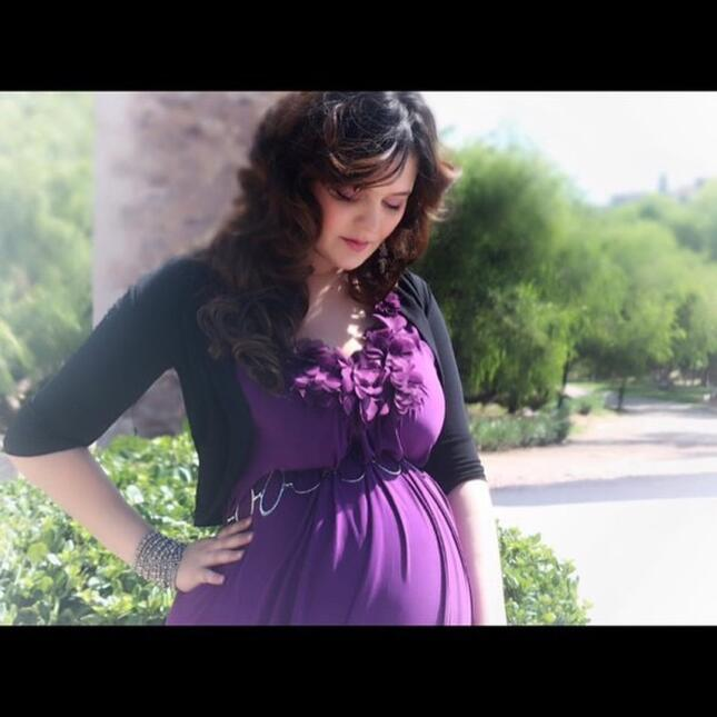 Allison lozz embarazada
