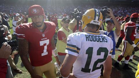Rodgers & Kaepernick