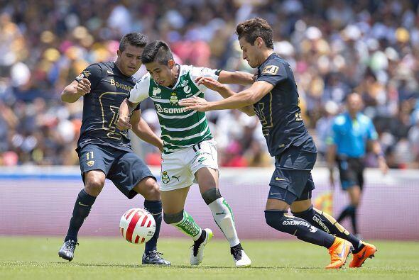 El partido ante Pumas fue el detonante del buen cierre de Santos, tras u...
