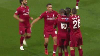 Revive los goles del primer tiempo entre Liverpool y PSG