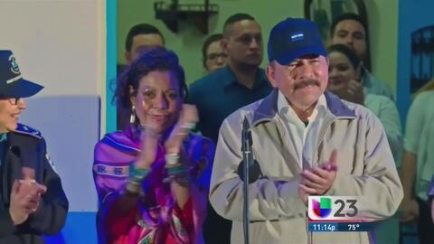 El gobierno sandinista celebra su triunfo antes de conocer los resultado...