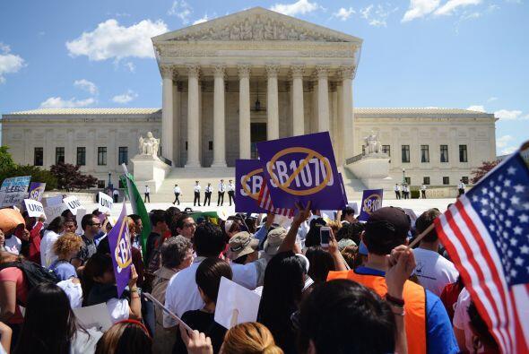 24 de junio. La Corte Suprema de Justicia de Estados Unidos falla sobre...