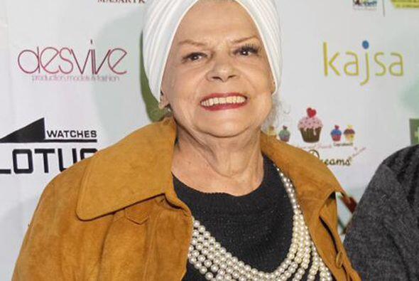 Ella falleció comenzando el 2015, justo el 1 de enero a los 85 años de e...