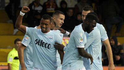 Lazio golea al Benevento y le propina su undécima derrota del torneo