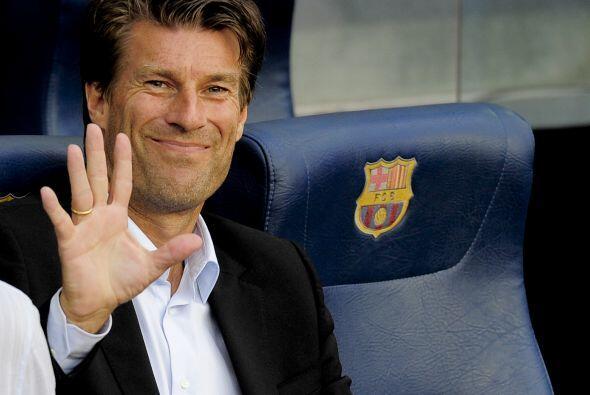 Michael Laudrup, ex jugador de los 'blaugranas' y ahora DT del Mallorca,...