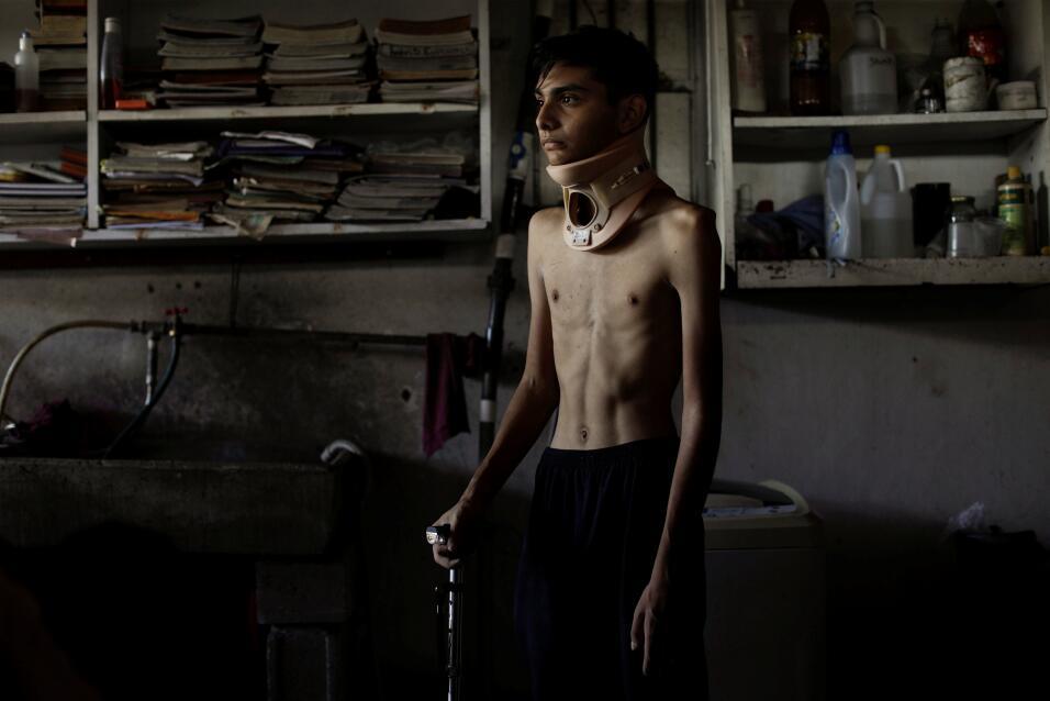 Heridos enfrentan escasez de medicinas en Venezuela
