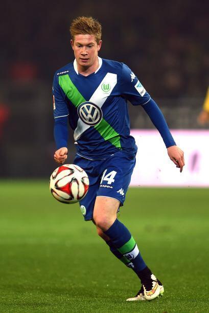 La revelación del Wolfsburgo Kevin De Bruyne es otro de los futbolistas...