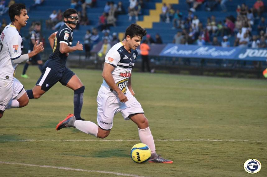 César Martínez: el delantero, ex Monterrey, marcó para Guadalupe en el t...