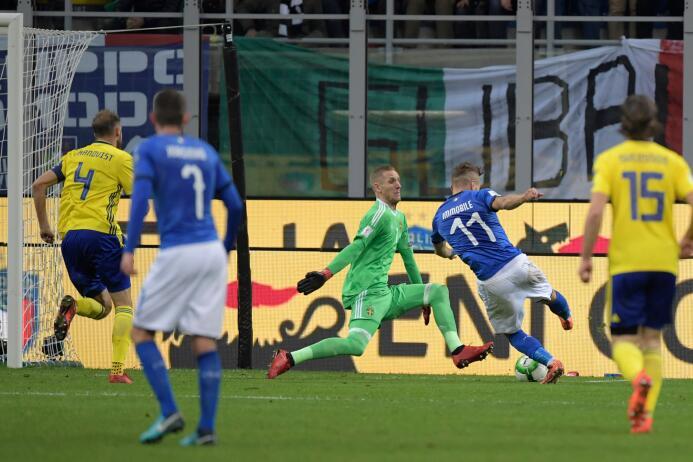E n Fotos: El arco de Suecia se le cerró a Italia y se despidió de Rusia...