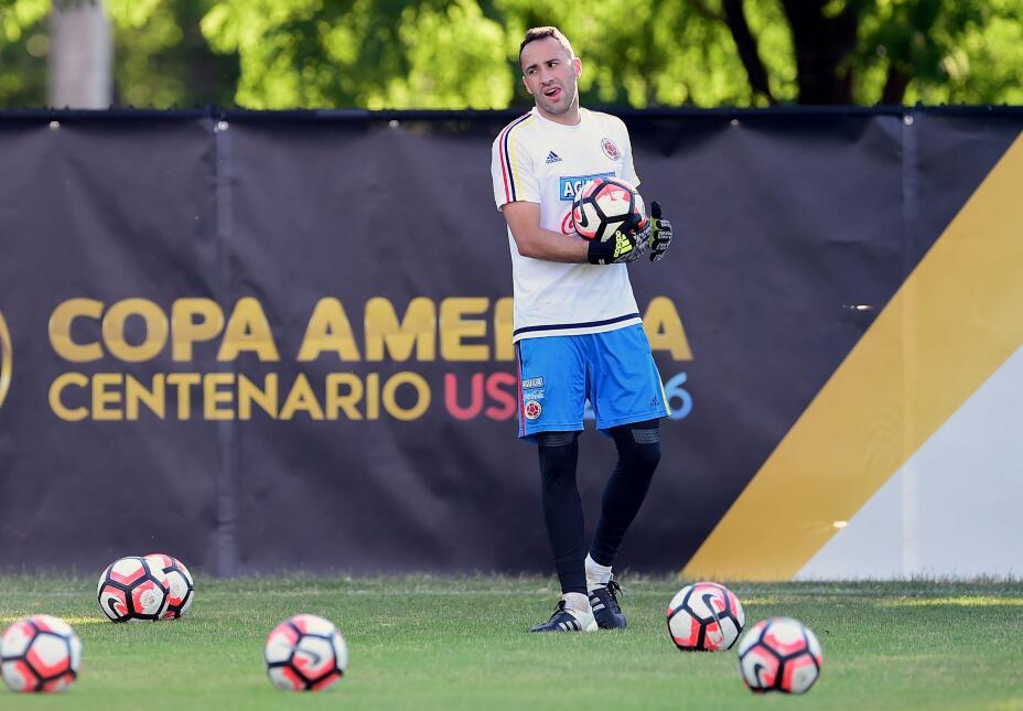 Mira imágenes de la selección colombiana practicando en el Soldier Field...