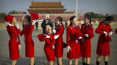 En fotos: El congreso del Partido Comunista de China, entre la solemnidad, la tradición y la fiesta
